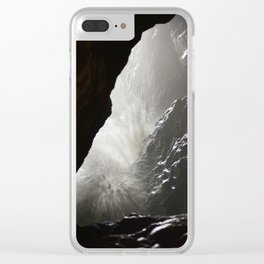 Pacific Cave Wave Crash Clear iPhone Case