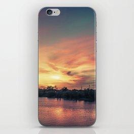 Sunset River - Sacramento River iPhone Skin