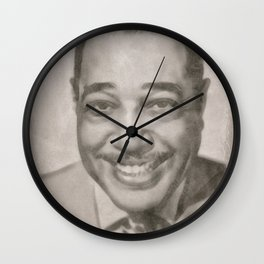 Duke Ellington, Jazz Musician Wall Clock