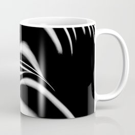 8903-SLG Sensual Nude Woman Back Shoulders Butt Erotic Curves Black & White Zebra Stripes Coffee Mug