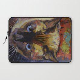 Seal Point Siamese Laptop Sleeve