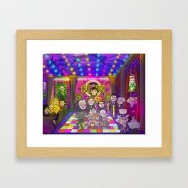 Club Prez Framed Art Print