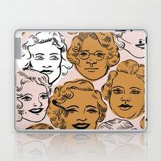 1950s in Pink & Gold Laptop & iPad Skin