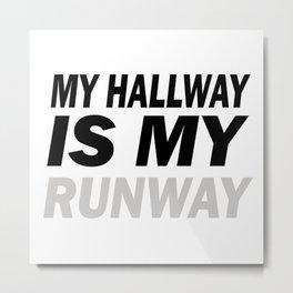 The Runway Metal Print