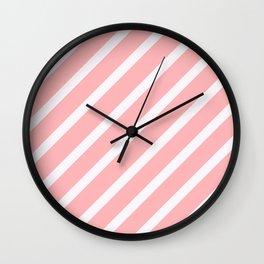 CLASSIC CROSS ROSADA Stripes Wall Clock