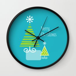 Merry Wall Clock