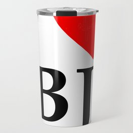 I love BJ - The cult shirt black Travel Mug