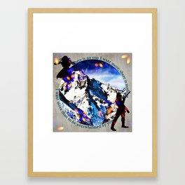 Nina and Matthias - Overwhelm Me Framed Art Print