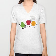 Like Apples and Oranges Unisex V-Neck