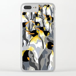 Penguins Clear iPhone Case