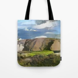 Ayers Rock in the Colors of Dover Tote Bag