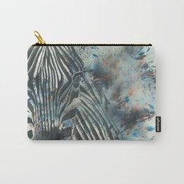 Furious Zebra Carry-All Pouch