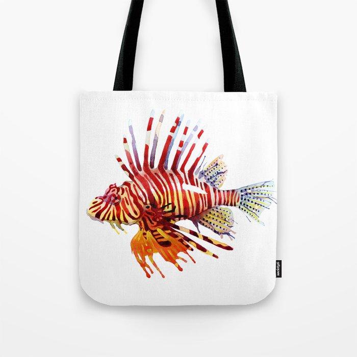 Lionfish Tote Bag