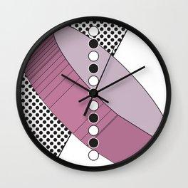 Geometric Calendar - Day 30 Wall Clock