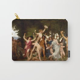 """William-Adolphe Bouguereau """"The Youth of Bacchus"""" Carry-All Pouch"""