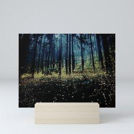 Twilight Fireflies Mini Art Print