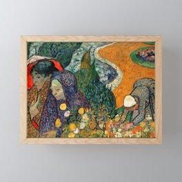 Memory of the Garden at Etten by Vincent van Gogh Framed Mini Art Print