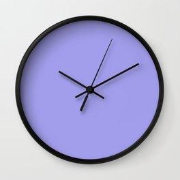 Powder Lavender Wall Clock