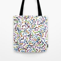 shoes Tote Bags featuring Shoes by Project M