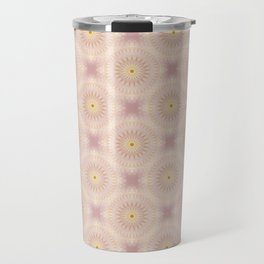 Gold Rose Mandala Travel Mug