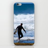 surfer iPhone & iPod Skins featuring Surfer by JohnJohn22