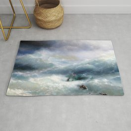 Ivan Aivazovsky - The Wave Rug