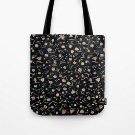 Vintage Tapestry II Floral Tote Bag
