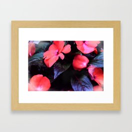 Losing My Patiens Framed Art Print