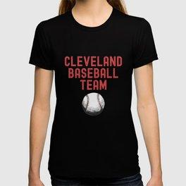 Cleveland Baseball Team Ohio Retro Vintage Distressed  T-shirt