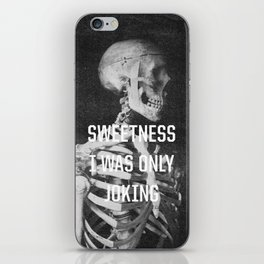 Sweetness iPhone Skin