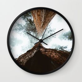 Stand in Awe of the Giant Forest Wall Clock