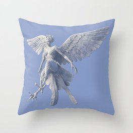 Syrenox the Siren Throw Pillow