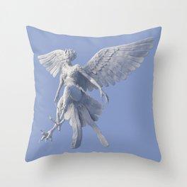 Syrenox the Siren Throw Pillow