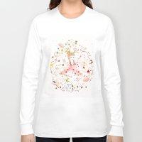 child Long Sleeve T-shirts featuring child garden by Danse de Lune