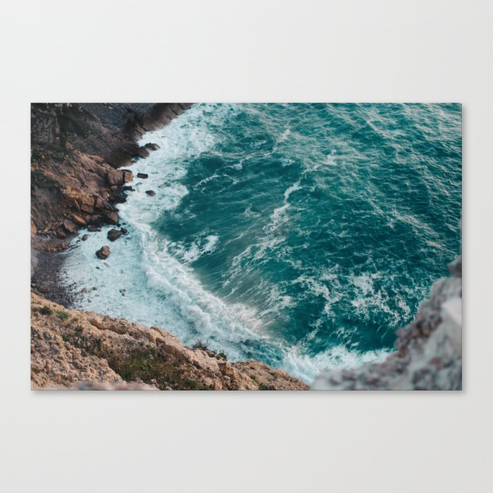 Strong tide Canvas Print