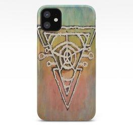 Geometric Portal iPhone Case