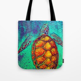 Swim in Eternal Seas Tote Bag