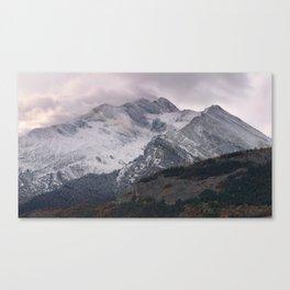The Alps 4 Canvas Print