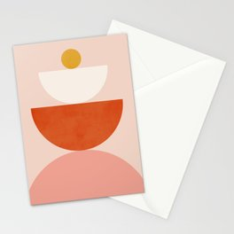 Abstraction_BALANCE_Minimalism_Art_009 Stationery Cards