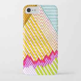 Isometric Harlequin #6 iPhone Case