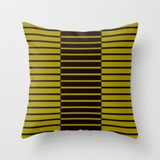 Quagga Zebras Play Piano Duet Throw Pillow