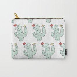 Cactus party print Carry-All Pouch