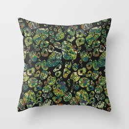 Chanterelle II Throw Pillow