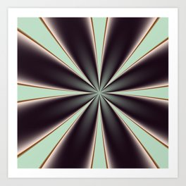 Fractal Pinch in BMAP01 Art Print