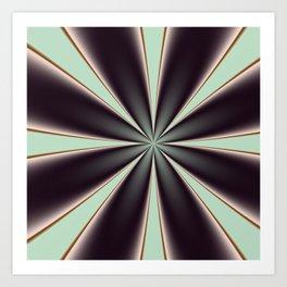 Fractal Pinch in BMAP01 Art Print