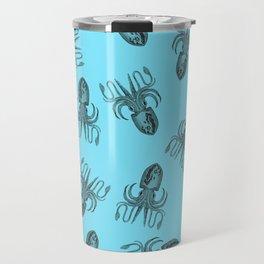 Floating octopus Travel Mug
