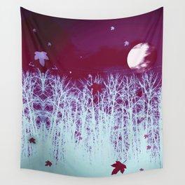 Eerie Moon Wall Tapestry