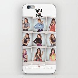 twice yes iPhone Skin