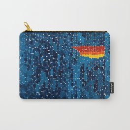 Alma Thomas, African American Portrait, Lucias Unity abstract painting Carry-All Pouch