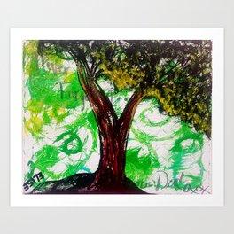Daddio 3-13-15 Art Print
